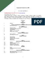 Employment Standards Act, 2000 p