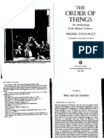 "Foucault 2, OrderOfThings- ""Man and His Doubles"" and ""Human Sciences"" 344-55, 386-7"
