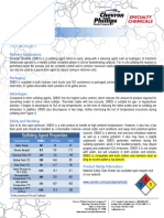 FactSheet Dimethyl Disulfide