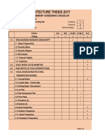 Thesis Checklist