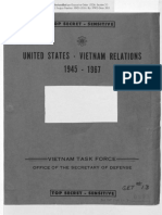 United States - Vietnam relations 1945-1967 - Pentagon papers