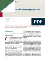 Artículo Científico - Síndrome de Dispersión Pigmentaria