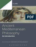 2013 Stephen Clark - Ancient Mediterranean Philosophy_Rcvl