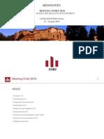 Fondi Immobiliari - Resoconto Seminario FIMIT SGR 2010
