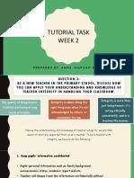 Tutorial Week 2