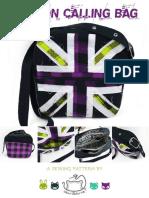 London Calling Bag Sewing Pattern