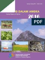 Kabupaten Kupang Dalam Angka 2016