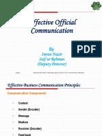 Effective Official Communication v.004