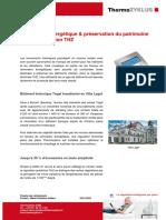 Renovation Energetique Preservation Du Patrimoine