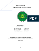 Makalah Konsep Akhlak Dalam Islam