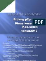 Rencana Kegiatan Tahun 2017