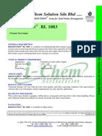BL 1083 PDS - I-Chem