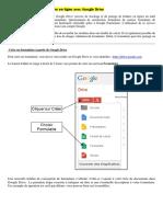Tutoriel Formulaire Google