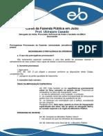 Aula 5 - Prerrogativas Processuais Da Fazenda - Necessidade, Prevalência Do Interesse Público, Prazos