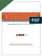 Bases Estándar de Concurso Público Para La Contratación de Servicios o Para Consultoría en General