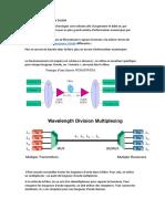 Les Technologies WDM Et DWDM