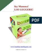eBook Manuale ITA_Hey Mamma_Voglio LEGGERE_Aggiornamento Gennaio 2010_fracita_bambini Intelligenti Metodo Montessori Glenn Doman Makoto Shichida Titzer