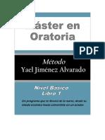 Máster en Oratoria Nivel Basico Libro I