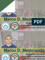 Marco Meduranda Natatanging Guro [Autosaved]