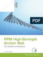 PPM High-Strength Anchor Bolt Peikko Group 05-2015(1)