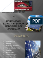 Presentation on Solar Cell