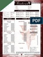 Clan - Vanture Sheet