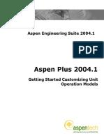 AspenPlus2004[1].1GettingStartedCustomizing