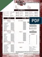 Blood and Smoke Sheet