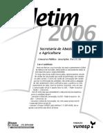 Concurso Saa Sp 2006