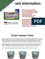 Water Park Financial Data