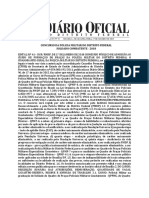 Diario Oficial - Edital Pmdf 2018.2