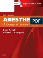 Anesthesia - A Comprehensive Review 5th Edition