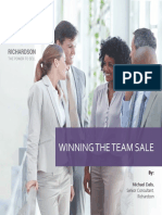 Winning the Team Sale