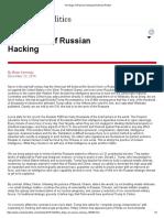 The Illogic of Russian Hacking _ RealClearPolitics.pdf