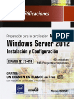 Windows Server 2012 - MCSA 70-410 - Instalación y Configuración