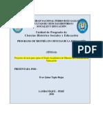 Protocolos Proyecto Informe 2017