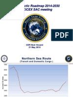 Arctic Roadmap SCICEX SAC 2014 Vincent