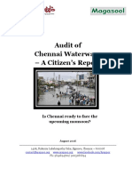 NGO Arapoor Iyakkam_Audit of Chennai Waterways–a Citizen's Report