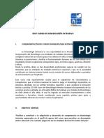 Programa XXIV Curso Kinesiología Intensiva