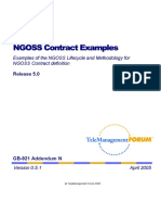 NGOSS Contract Examples - GB921N_R5-0_v0-5!1!2005