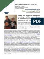 NIOS - Lettre d'info n°17 - La nature est notre force - (Erasmus+ 2015-2018)