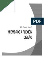 Flexion diseño