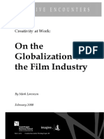 Globalisation of the Film Industry