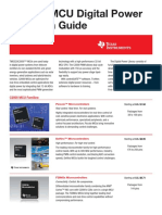 TI C2000™ MCU Digital Power Selection Guide