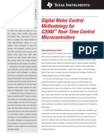 Digital Motor Control Methodology for C2000™ Real-Time Control Microcontrollers.pdf