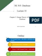 CSE 303 Lec 10 DesignTheory