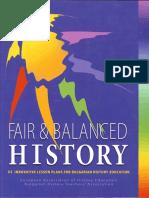 Fair and Balanced History. ENGLISH