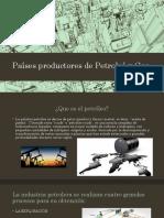 Países Productores de Petroleó (1)