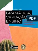 Gramática, Variação e Ensino - eBook
