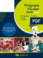 Novo Programa Escolar KidZania 2014 2015
